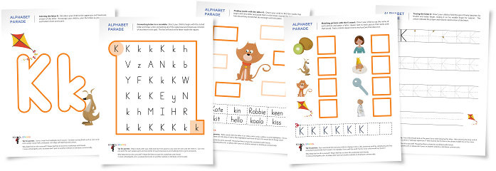 Number Names Worksheets preschool letter k worksheets Free – Letter K Worksheets for Kindergarten